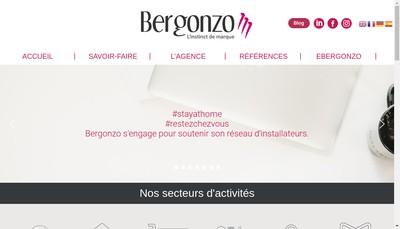 Site internet de Bergonzo