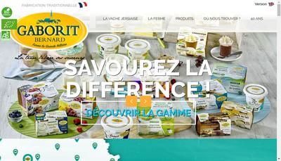 Site internet de Gaborit