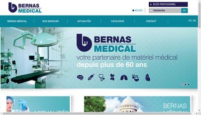 Site internet de Bernas Medical