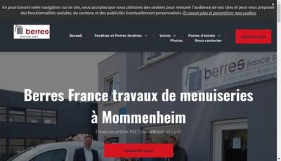 Site internet de Berres France