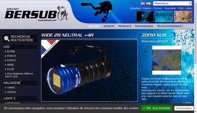 Site internet de Bersub