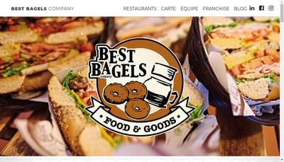 Site internet de Best Bagels Company
