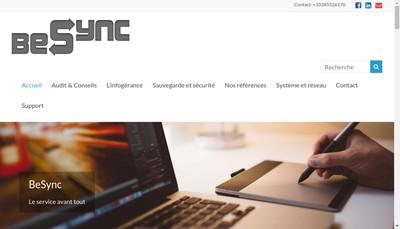 Site internet de Besync