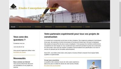 Site internet de Etudes Conception Coordination