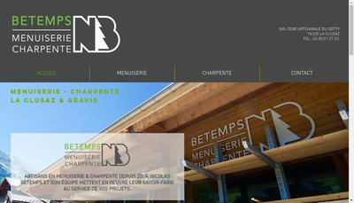 Site internet de Nicolas Betemps