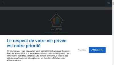 Site internet de BFDI