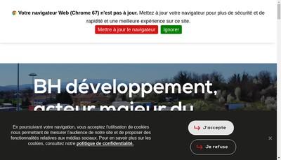 Site internet de Transports Chipier