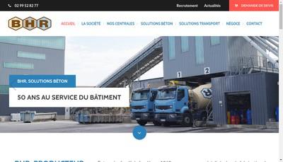 Site internet de BHR