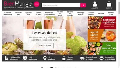 Site internet de Bienmanger Com
