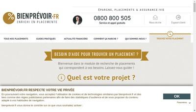 Site internet de Bienprevoir Fr