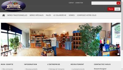 Site internet de Brasserie Bourganel