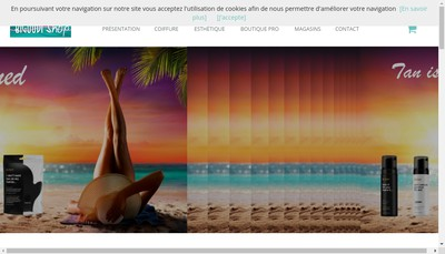 Site internet de Bigoudi Shop-Produits Coiffure et Cosmetiques