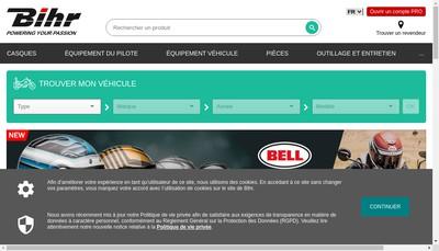 Site internet de Bihr