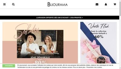 Site internet de Bijourama Lookeor Winaretta Mode In Motion