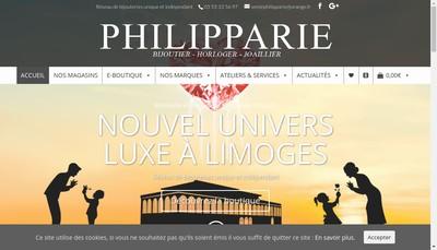 Site internet de Bijouterie Philipparie