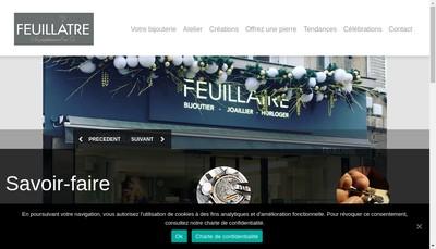 Site internet de Feuillatre