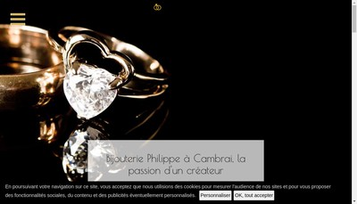 Site internet de Bijouterie Philippe