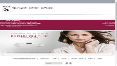 Site internet de La Coque de Nacre