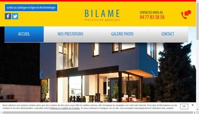 Site internet de Bilame