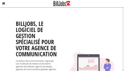 Site internet de Billjobs