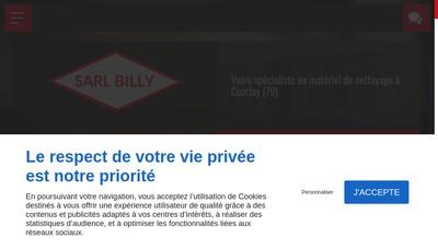Site internet de Billy - Materiel de Nettoyage