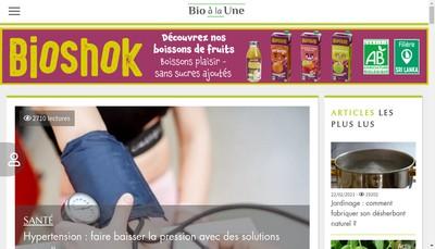 Site internet de Bioalaune Com
