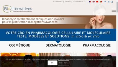 Site internet de Bioalternatives