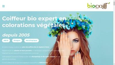 Site internet de Biocoiff'
