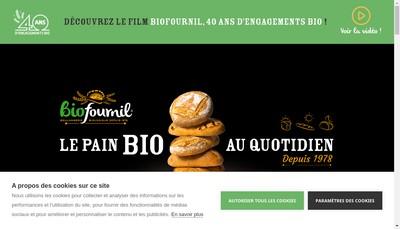 Site internet de Biofournil