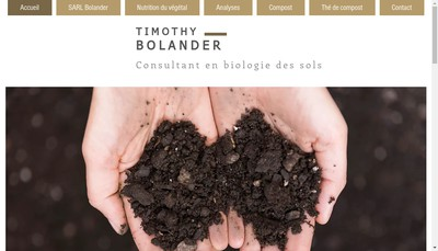 Site internet de Bolander