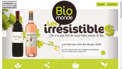 Site internet de Bio du Portzic