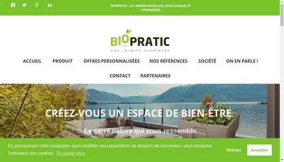 Site internet de Biopratic