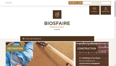 Site internet de Biosfaire