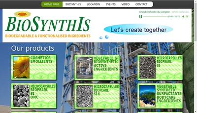 Site internet de Biosynthis