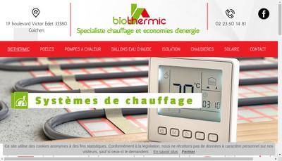 Site internet de Eco-Bio Concept Diffusion