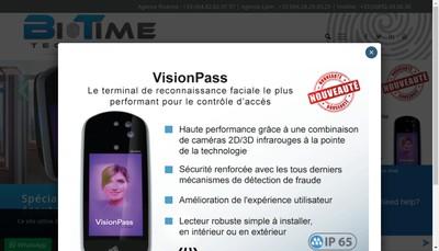 Site internet de Biotime Technology