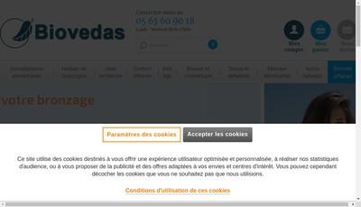 Site internet de Biovedas
