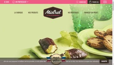 Site internet de Biscuit Gourmandises de Charlotte