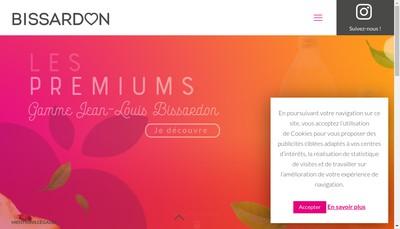 Site internet de Bissardon Jus de Fruits