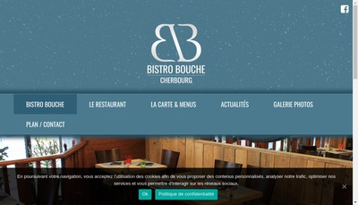 Site internet de Bistro Bouche