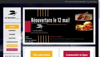 Site internet de Le Bistrot Mijote