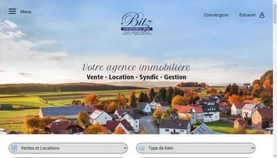 Site internet de Bitz Immobilier SARL