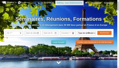 Site internet de Bizmeeting