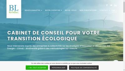 Site internet de B&l'Evolution-SCOP Ec-SCOP Entrepreneurs du Changement-Agence Ec-B&L