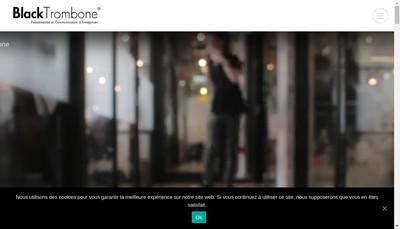 Site internet de Black Trombone