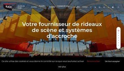 Site internet de Blackout France