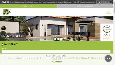 Site internet de Groupe Blain Construction