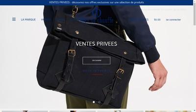 Site internet de Bleu de Chauffe