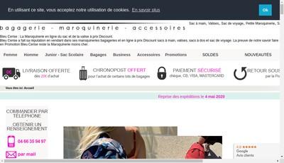 Site internet de Bleu Cerise