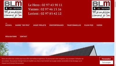 Site internet de Blm Sud Bretagne